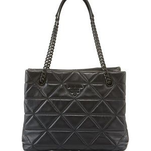PRADA Spectrum Quilted Logo Leather Tote Bag, NEW
